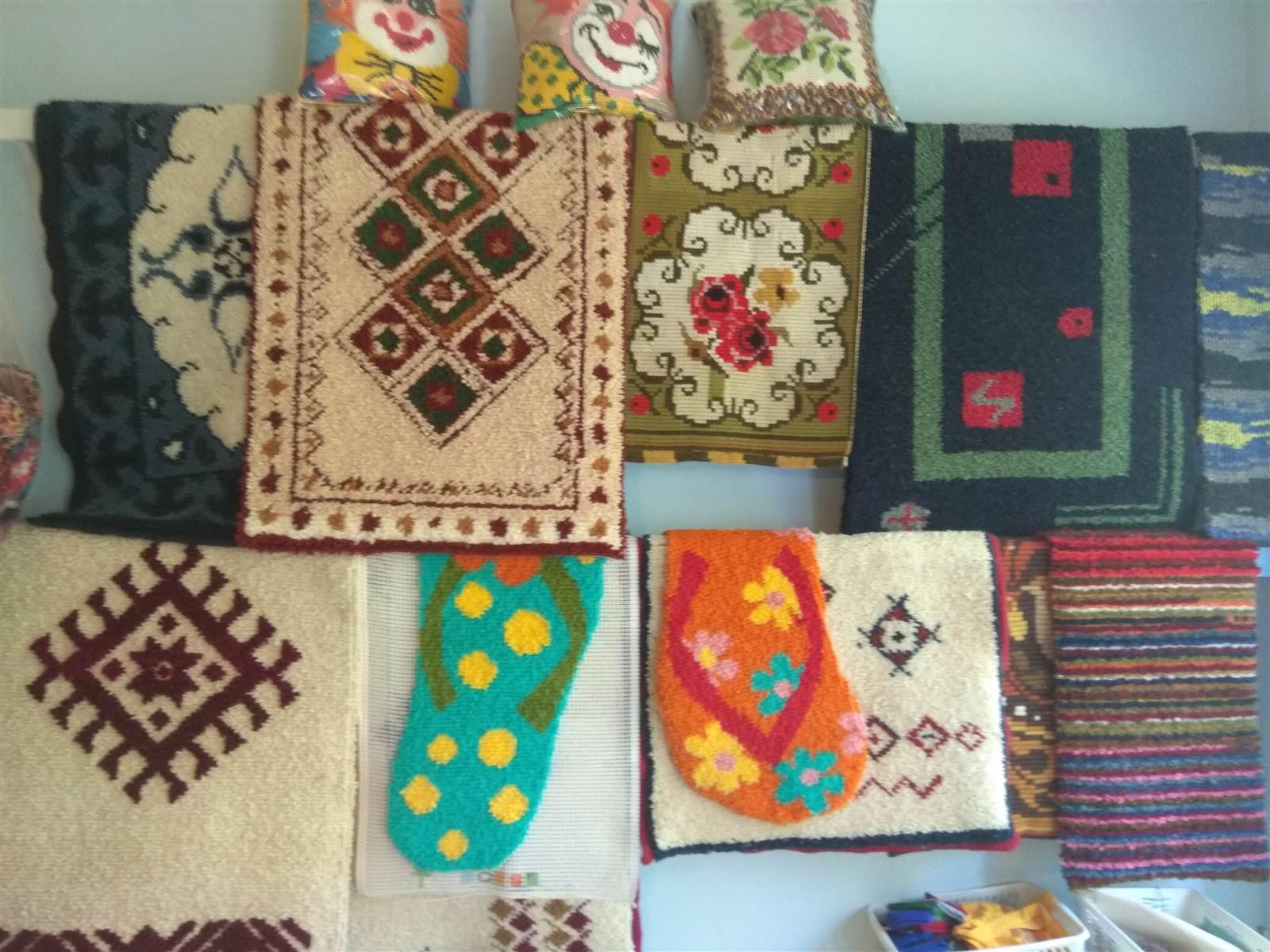Dywany wykonane przez podopiecznych