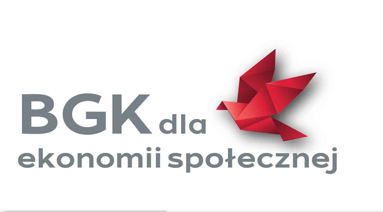 Logotyp akcji BGK dla ekonomii społecznej