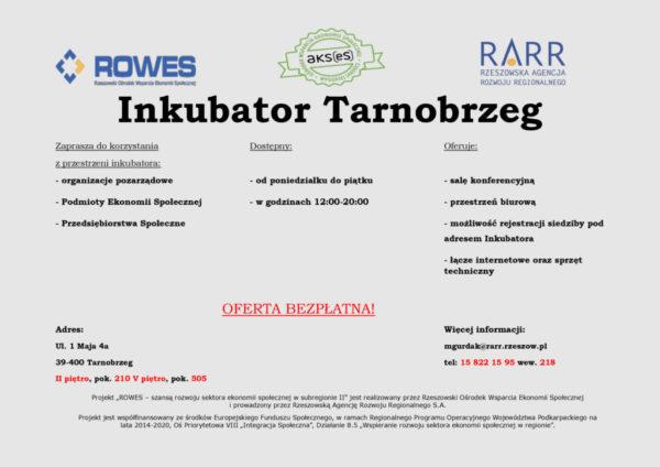 Inkubator w Tarnobrzegu dobre miejsce dla organizacji pozarządowych