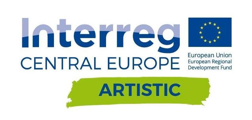 Logotyp Interreg Artistic