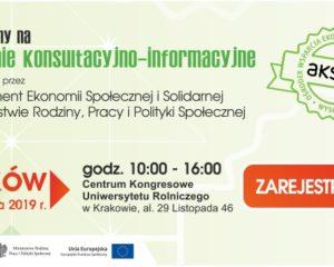 Zaproszenie na spotkanie konsultacyjno-informacyjne