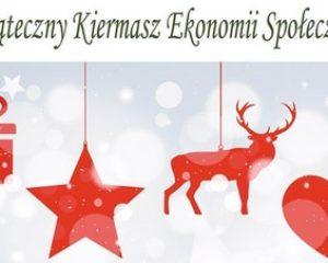 Zaproszenie na świąteczny kiermasz