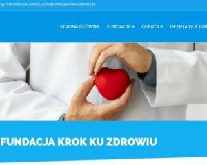 Fundacja Krok ku zdrowiu ma stronę www