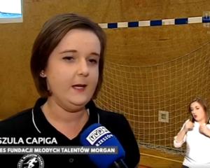 Fundacja MORGAN w TVP3 Rzeszów