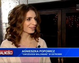 Gwoździem Malowane w TVP3Rzeszów