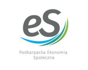 Logotyp Podkarpackiej Ekonomii Społecznej